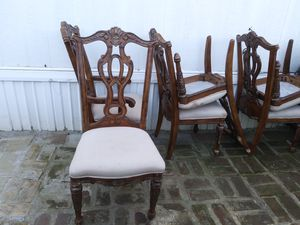 Antique 6 chairs very strong no table for Sale in Portland, OR