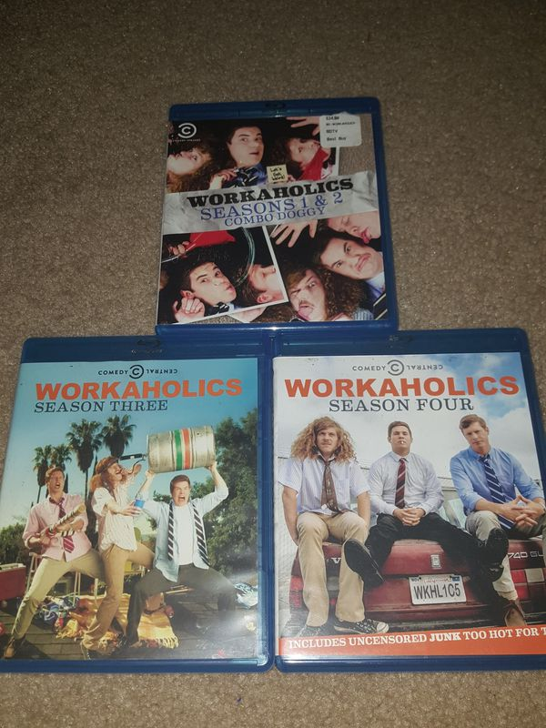 Workaholics (seasons 1-4 on blu-ray)