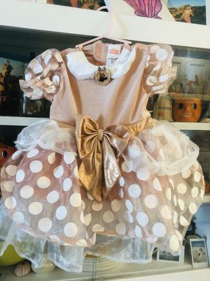 Pink Minnie Mouse Disney princess dress 2T toddler girl baby costume Halloween for Sale in Pompano Beach, FL