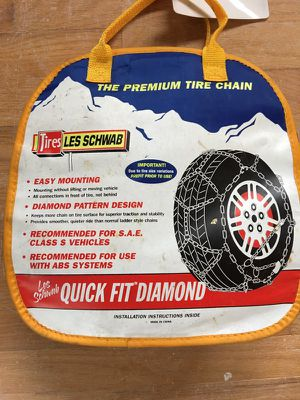 Tire Chains Les Schwab Quick Fit Diamond For In Portland Or
