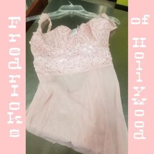 Fredrick of Holiday med pink bling and sheer nighty for Sale in Amarillo, TX