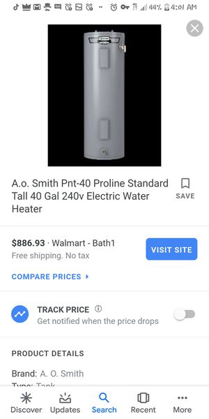 Hot water heater for Sale in Winter Haven, FL