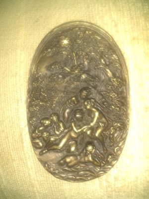 Vintage Fantasy like Brass collectable buckle for Sale in Harrisburg, IL
