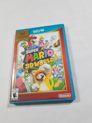 Nintendo Selects: Super Mario 3D World - Nintendo Wii U Fast Shipping for Sale in Winter Springs, FL