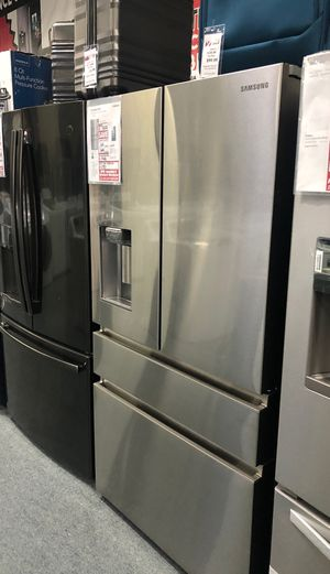 Fridge Samsung counter depth French door refrigerator original price $3221 our price $2495 free delivery and installation for Sale in Oakland, CA