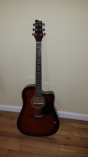 Acoustic- electric guitar Carlo Robelli model CW 4103 FCS for Sale in Brooklyn, NY