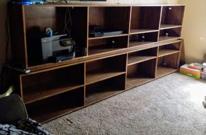 3 big wood shelves only $20 each for Sale in Perris, CA