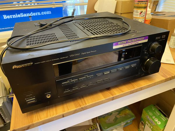 Pioneer VSX-D510 Stereo Audio/Video Receiver