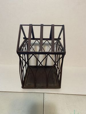 Farmhouse country metal bird cage for Sale in McDonald, PA