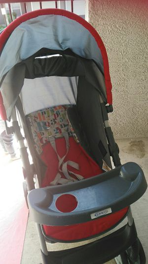 Stroller,Graco brand literider travel system without car seat for Sale in Centennial, CO