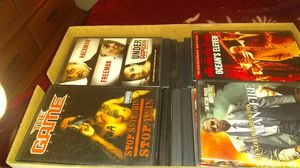 DVD movies 64 in box for Sale in Tampa, FL