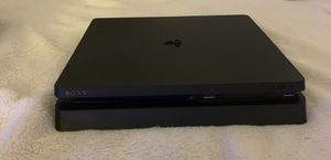 Marvel SpiderMan PS4 slim with spiderman game and a controller for Sale in Hendersonville, TN