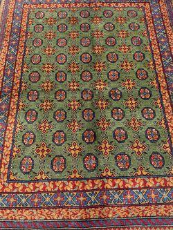 Handmade Wool Bukhara Rug for Sale in Portland,  OR