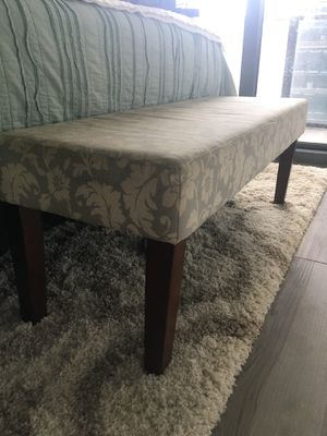 Modern End of Bed Bench for Sale in Miami, FL