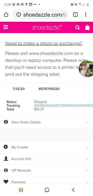 Shoedazzle heeled sandal for Sale in Charlotte, NC