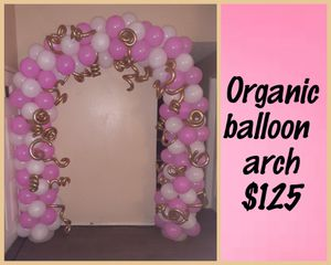 Organic balloon arch for Sale in Dallas, TX