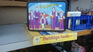 COME ON GET HAPPY ! PARTRIDGE FAMILY LUNCH BOX AND BOARD GAME for Sale in Salem, OR