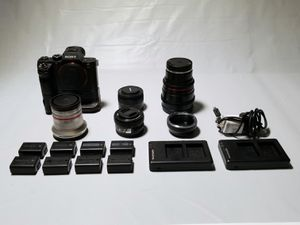 Sony a7rii & more! for Sale in Windsor, CT
