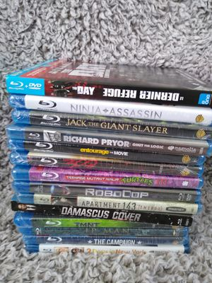 New lot of 14 Blu Rays shipping only no pickup for Sale in Apalachicola, FL