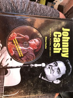 Johnny cash in words pictures and music book! for Sale in Maywood, CA