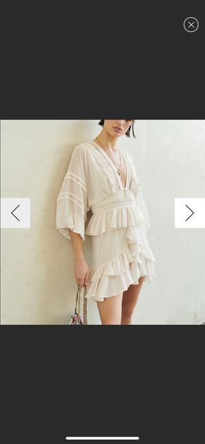 White chiffon dress for Sale in San Diego, CA