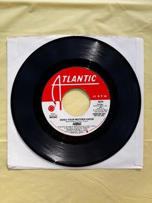 """7"""" Mono/Stereo ABBA DJ/Radio Promo 45rpm vinyl record. 70's Pop for Sale for sale  Tacoma, WA"""