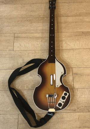 Beatles Hofner Rockband Model PSGTS3 Guitar Controller by Harmonix for Sony PS3 - No Dongle for Sale in Phoenix, AZ