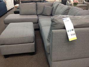 Sofa sectional couch ottoman furniture for Sale in Phoenix, AZ