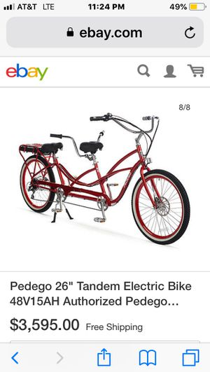 Pedago Electric Tandem Bicycle for Sale in Portland, OR