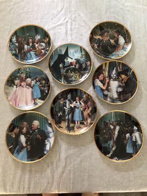 Wizard of Oz 50th Anniversary Commemorative Plates for Sale in Altadena, CA