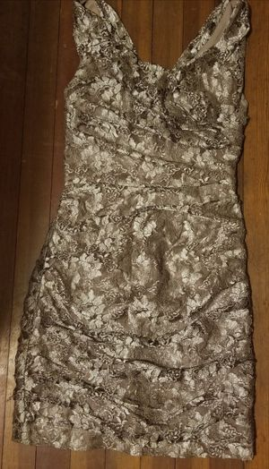 Champagne Colored Lace Cocktail Dress for Sale in Denver, CO