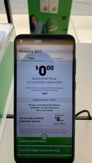 4 Samsung A11 free when you switch. See description for more details for Sale in West Valley City, UT