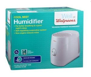 Walgreens Cool Mist Humidifier White for Sale in Houston, TX