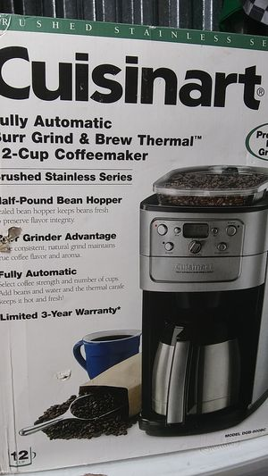 Cuisinart coffee maker for Sale in Oklahoma City, OK