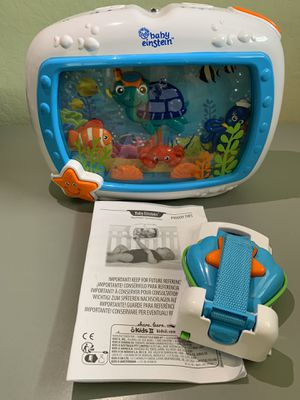Baby Einstein Sea Dreams Soother Crib Toy for Sale in Pacifica, CA