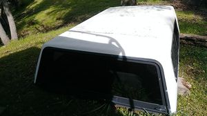 Camper shell for 8 foot bed truck. Fits 1991 f250 long bed. Length 100 in. By 72.5 in. Hieght 23 in. for Sale in Atascadero, CA