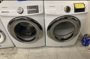 Samsung Front Load Washer And Gas Dryer for Sale in Garden Grove, CA