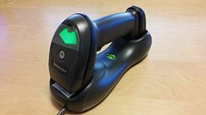 Zebra Symbol (Motorola) LI4278 Wireless Bluetooth Barcode Scanner, with Cradle and USB Cables for Sale in Hurst, TX