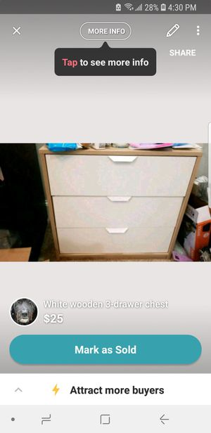 3 tier dresser for Sale in Baltimore, MD