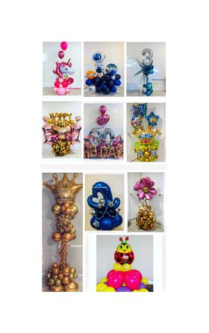 Balloon bouquets for any occasion for Sale in East Rutherford, NJ