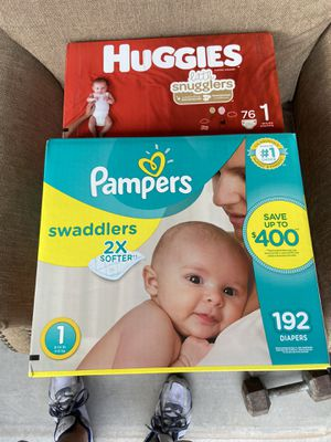 Size 1 diapers for Sale in Mesa, AZ