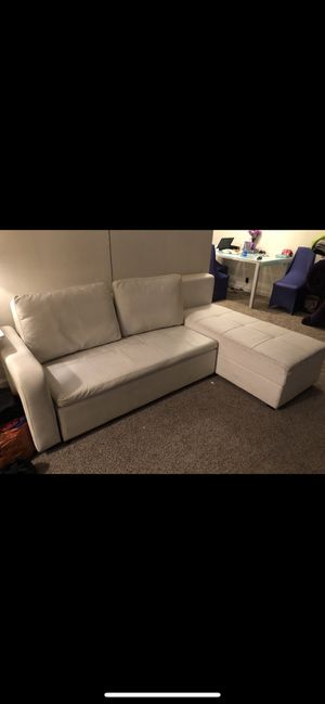 Couch sofa sleeper pull out bed for Sale in Hemet, CA