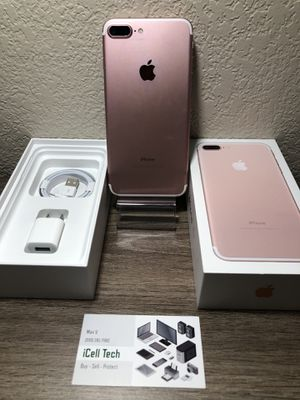 iPhone 7 plus 256gb Unlock for any carrier. IMEI clean, iCloud unlocked. for Sale in Fresno, CA