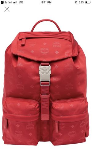 Red MCM backpack for Sale in McKinney, TX