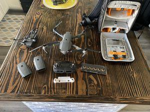 DJI Mavic Pro Bundle - 3 batteries plus more - Flawless condition for Sale in Peoria, AZ
