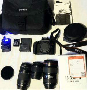 CANON T7 16-35MM F/2.8 III BUNDLE AND MORE! for Sale in Philadelphia, PA