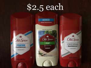 Old Spice Deodorant $2.5 each for Sale in Monterey Park, CA