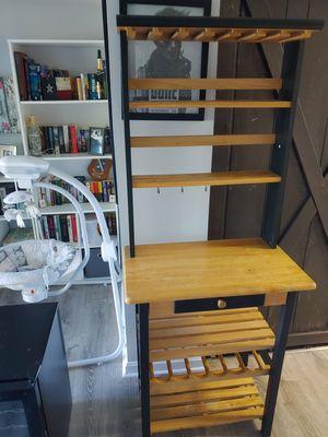 Wood wine rack/bar shelf for Sale in West York, PA