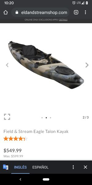 Eagle talon kayak fishing for Sale in Indianapolis, IN