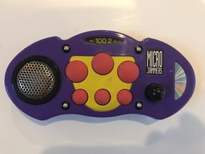 VINTAGE 1994 Micro Jammers Purple Beat Mixer Cap Toys Works for Sale in Pinole, CA